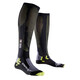 X-Bionic Effektor Competition Long Socks Men Black/Acid Green